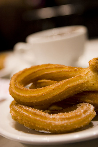 Chocolte con Churros