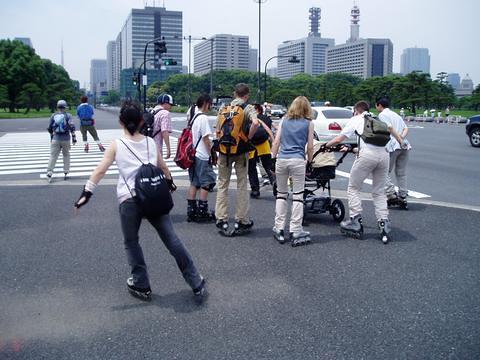 Ueno City Run (Inline skate)
