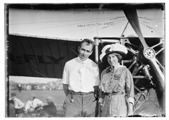 Earle Ovington & wife  (LOC) (The Library of Congress) Tags: airplane couple dragonfly aircraft aviation husband wife loc libraryofcongress plain earle bleriot ovington monoplane georgegranthambaincollection xmlns:dc=httppurlorgdcelements11 dc:identifier=httphdllocgovlocpnpggbain09557 earleovington earlyaeronautics bleriotmonoplane earlelewisovington earlelovington bleriotqueenmonoplane bleriotqueen