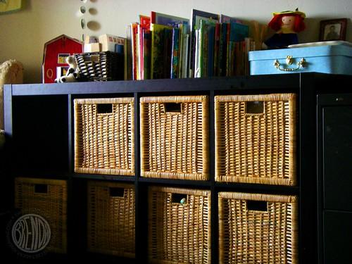 Behold: The Shelves!