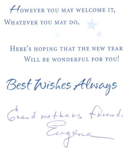 Eugene card