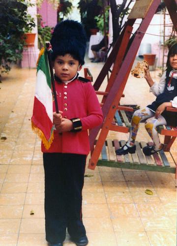 Yo en uniforme del Montessori