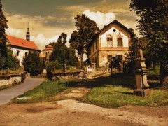 Jerice church (George*50) Tags: travel church europe village czechrepublic bohemia smrgsbord czechia centraleurope mitteleuropa goldenglobe blueribbonwinner cesko boehmen horice mywinners abigfave jerice aplusphoto flickrplatinum superbmasterpiece goldenphotographer diamondclassphotographer flickrelite goldstaraward