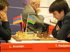 Aronian vs Radjabov