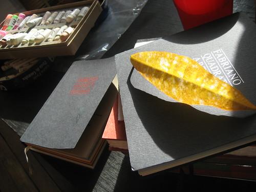 a bevy of sketchbooks
