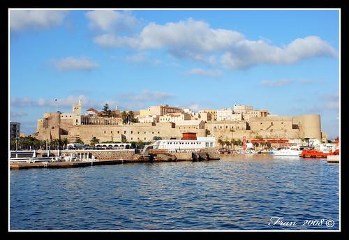 Vista de Melilla al Vieja