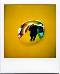 You can steal this (ale2000) Tags: me yellow wall self logo polaroid dot ale2000 giallo instant dada stolen 1000 steal vynil rubato 779 istantanea 1000redbutton