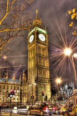 London Colors - HDR (Ageel) Tags: street uk england london english cars d50 photography nikon nightshot bigben explore hdr explored ageel
