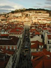 Looking toward Castelo de Sao Jorge