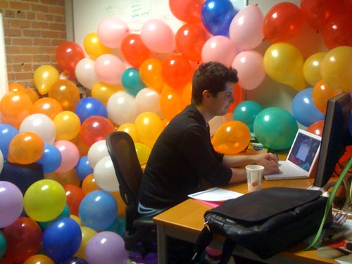 How To Fill An Office With Balloons - Fine Structure