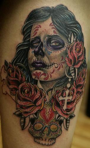 tattoo rosas de mariA