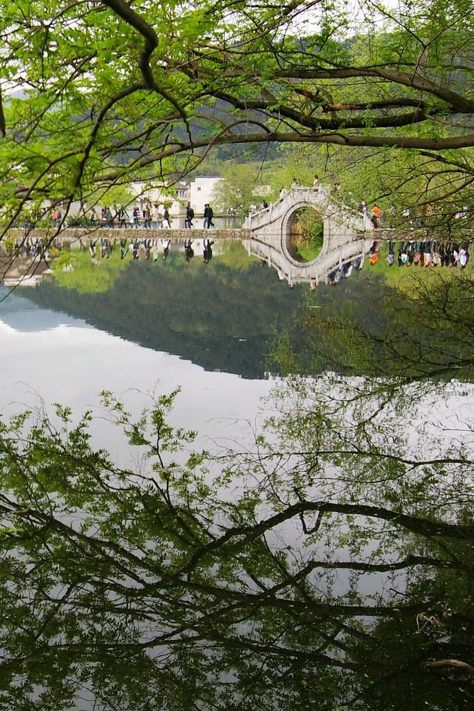 [景點]世界文化遺址-皖南古村落@宏村(半月塘,南湖)
