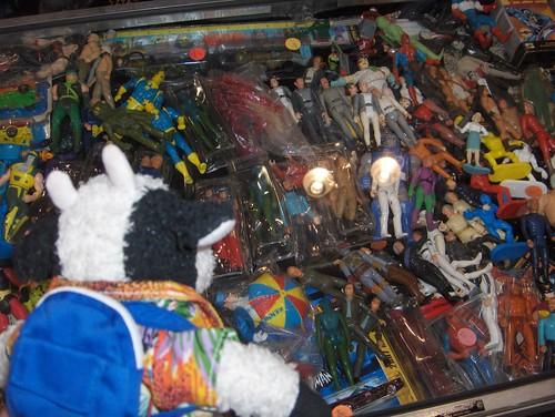 Toys toys everywhere!
