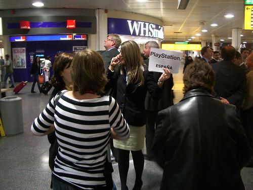 Llegando al aeropuerto