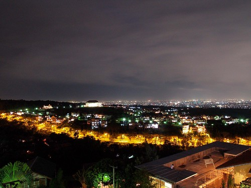 Bandung city at night