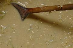 beslag voor vlierbloesempannenkoekjes