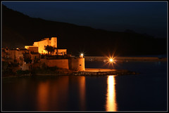 Lights and Sea (Gianluca Nuzzo) Tags: light sea italy panorama night landscape lights italia mare porto sicily luci castello notte luce sicilia castel golfo buio castellammare arbour alcamo