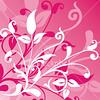 corak20 Floral background, vector