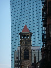 Hancock Tower & Church Tower