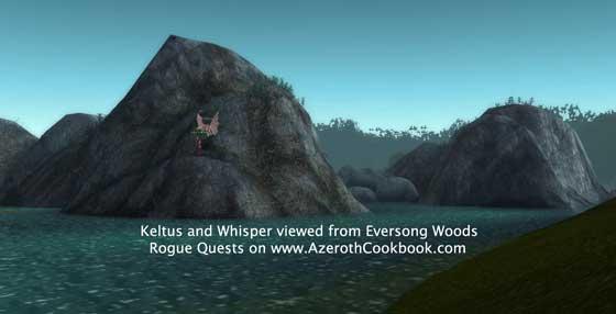 Keltus Darkleaf - from Eversong Woods