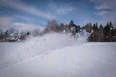 North Conway, snowmobiling, February 15, 2017 (MWV Chamber of Commerce) Tags: 1617 powder snowmobiling winter