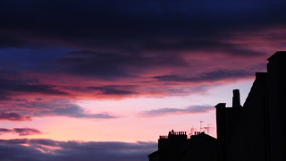 Urban Pinky Sky (window's view 11)