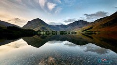 Breaking Dawn Buttermere (Dave Massey Photography) Tags: buttermere calm clouds cumbria dawn fells lake lakedistrict landscape mountains reflection scenic sunrise tranquil