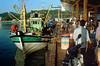 Busy Chendering Port (36910032) (Fadzly @ Shutterhack) Tags: film analog catchycolors nikon malaysia superia100 nikonfm2 terengganu kualaterengganu my fadzlymubin shutterhack
