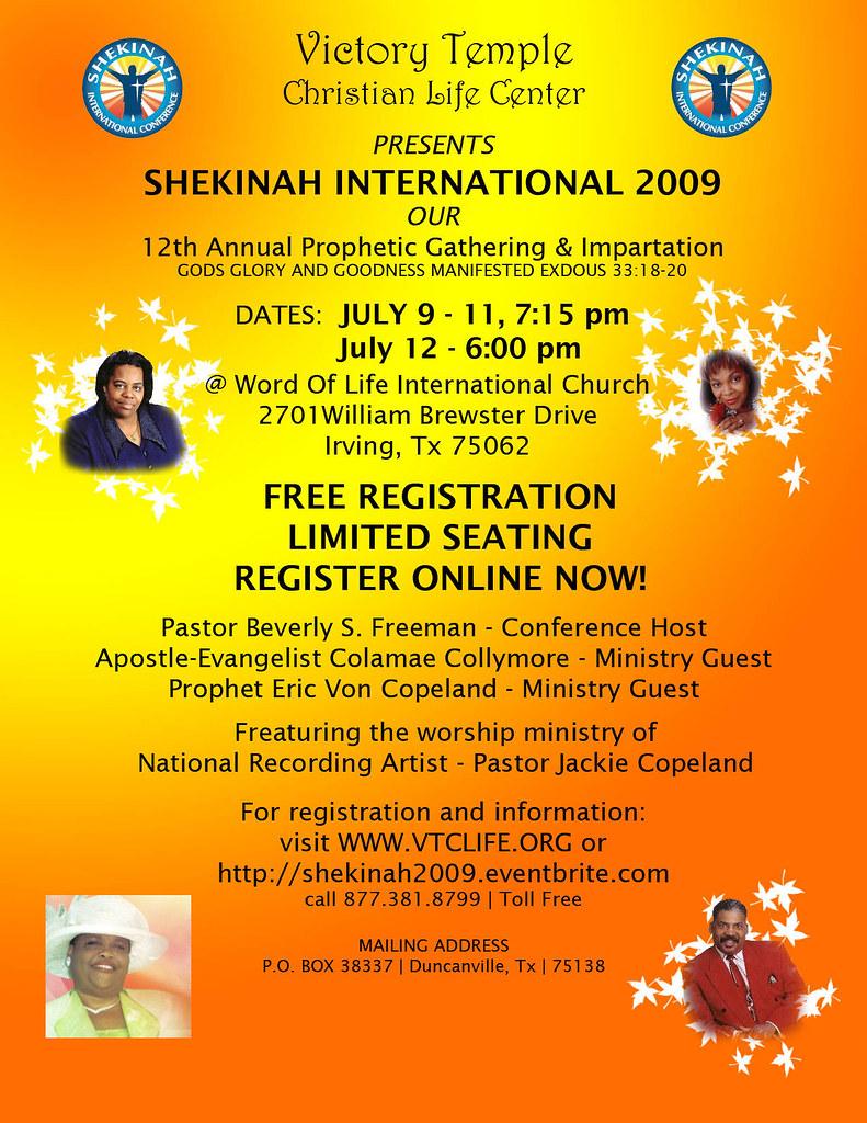 Shekinah Flyer