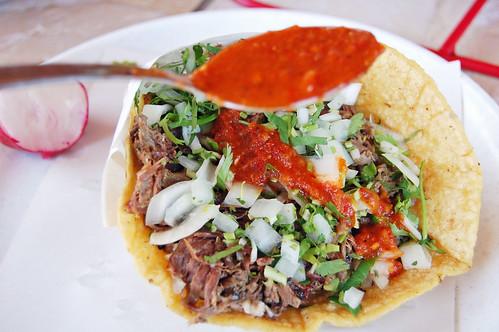 Tacos De Cabeza - La Chuleta Tijuana