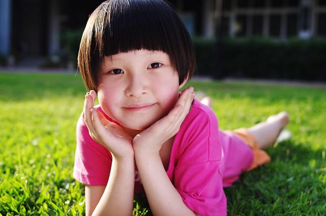 假日在家拍小孩之我要當Model