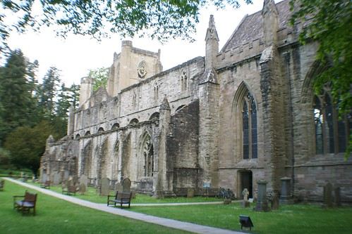 View of Dunkeld Cathedral