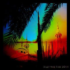 A Box whose Candle is the Sun (Billy-Fish) Tags: sunset sky square al dubai gulf minaret uae middleeast emirates arab burjalarab omar burj rubaiyat khayyam billyfish
