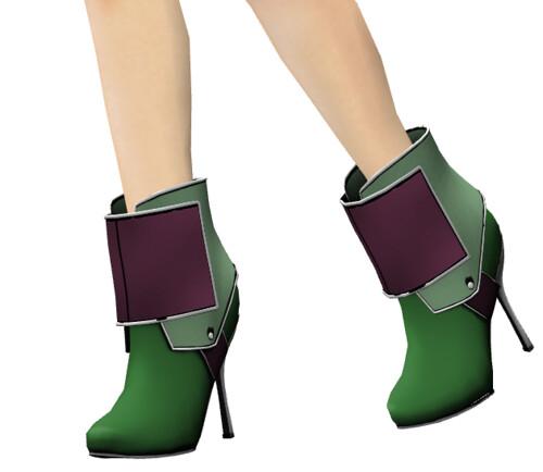 KLETVA-Tronacy Boots/greenburg MODAVIA Gift *wear to unpack*