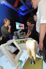 Visitors find out about the pioneering work of the oral microbiology team at Newcastle university's School of Dental Sciences (Newcastle Science City) Tags: school work out newcastle team dental oral about visitors microbiology find sciences pioneering universitys
