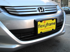 Bumper protectors can be sleek. (FlexyFrame: BUMPER GUARD) Tags: plate can front mount license be plates damaged easily