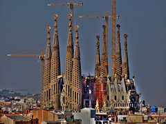 Sagrada familia (SlapBcn) Tags: barcelona church slap sagradafamilia hdr canong7 slapbcn