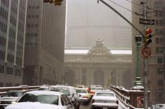 Snowy Grand Central (Triborough) Tags: ny nyc newyork newyorkcity 1990s newyorkcounty manhattan midtown grandcentralterminal mta metronorth railroad metronorthrailroad gct trainstation gare bahnhof terminal