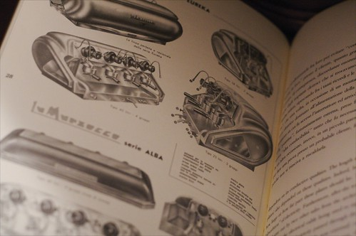 La Marzocco book with vintage machines