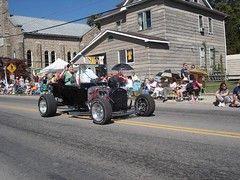 There was old cars.  Most not this old. (AlleyCast Chris) Tags: westvirginia elkins mountainstateforestfestival