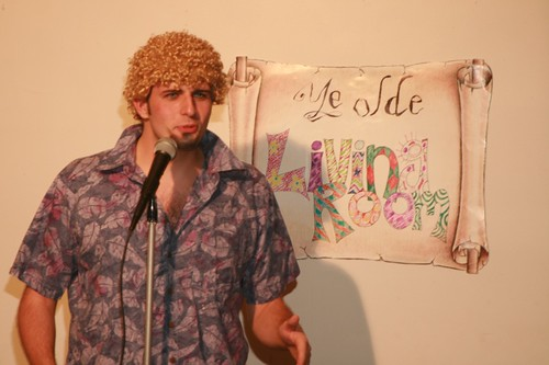 Luke Thayer as Tim the Party Man