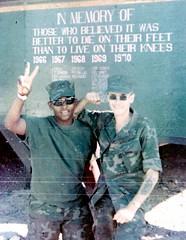 Gary Alexander and Me (eks4003) Tags: usmc war tales vietnam soul marines 1970 bro stories bros patrol nam sagas recon oralhistory lrrp soulpatrol