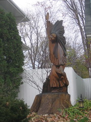 Soaring Woman Sculpture