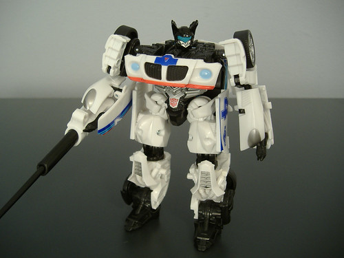 Transformers Movie Jazz G1 Repaint Bot Mode