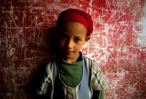 Little girl, Imlil, Morroco.