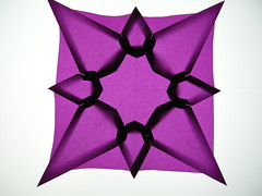 Irregular octagonal star
