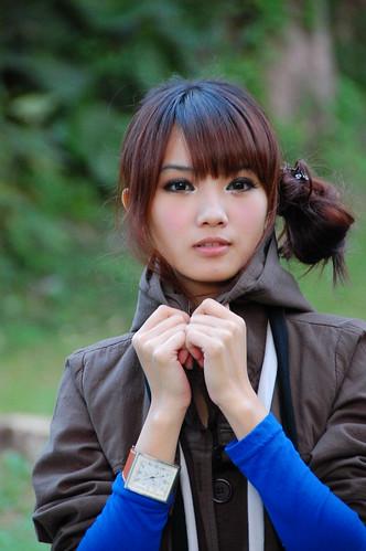Sweet Taiwan Girl in Summer