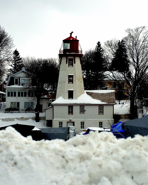 Snowed In Lighthouse