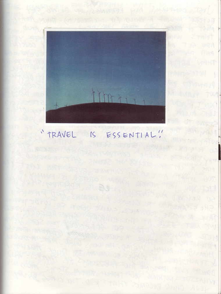 TRAVEL IS ESSENTIAL
