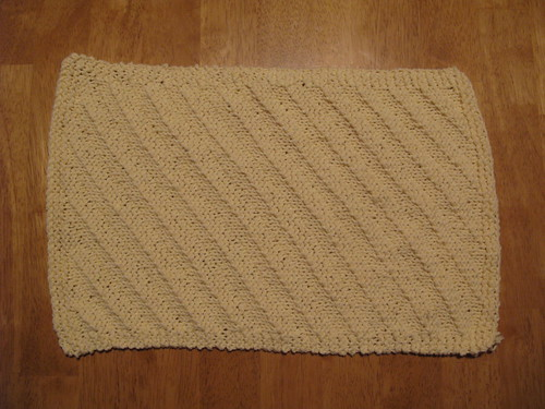 Ripple Towel Yellow